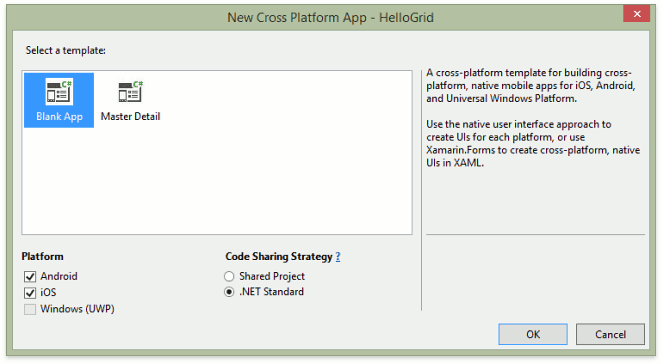Create a Solution with the DevExpress Grid Component in